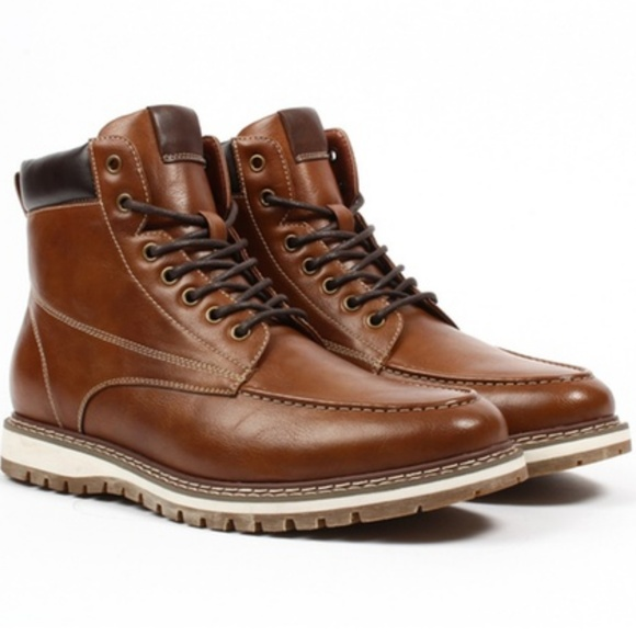 367db3a711d3 Harrison Myles Other - Harrison Myles Men s Clark Moc Toe Combat Boots 12